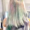 Marble hair