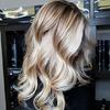 Waniliowa koloryzacja włosów