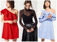 wyprzedaż mohito reserved sinsay czerwona sukienka niebieska