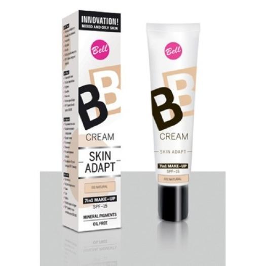 Bell, BB Cream Skin Adapt 7 in 1 Make - Up