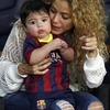Shakira i mały Milan