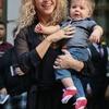 Shakira i mały Sasha