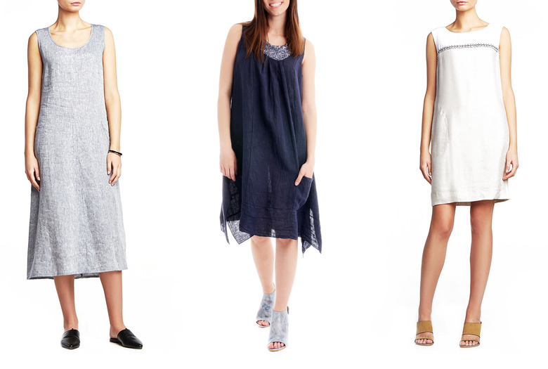 d16db74d79 Sukienka z lnu - dlaczego warto ją mieć w szafie   przegląd