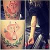 Haftowane tatuaże idealne dla kobiet i mężczyzn