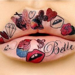 Tatuaże Wzory Usta Wizazpl