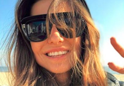 Anna Lewandowska -selfie