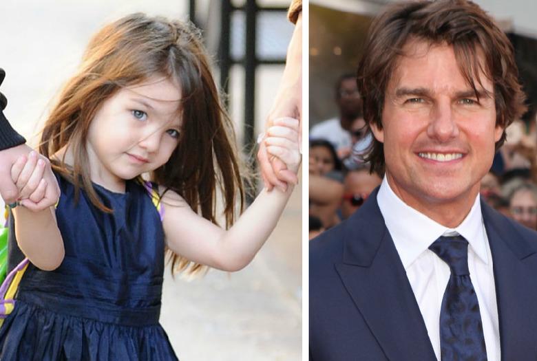 Suri Cruise i Tom Cruise