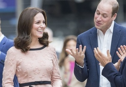 księżna Kate i książę William na London Paddington Station