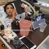 Makijaż między skurczami i poród w pełnym make-upie