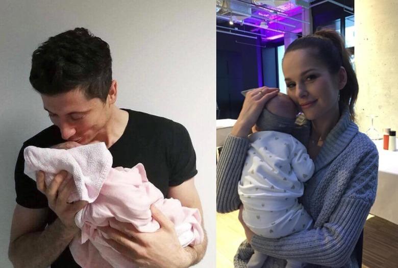 Robert z córka i Paulina sykut jeżyna z córką