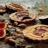 Tarta z figą i migdałami