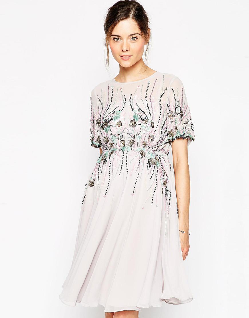 Pastelowa Sukienka Ciazowa
