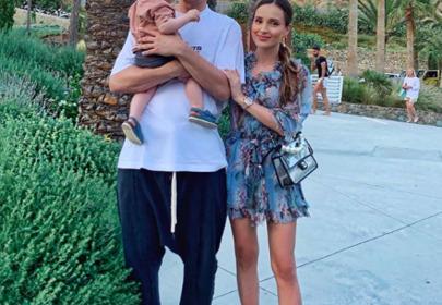 Marina opublikowała zdjęcia z Liamem po porodzie