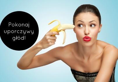 kobieta z bananem