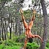 Adepci nagiej jogi: Cristian Santero