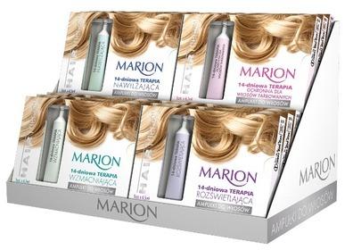 Ampułki do włosów Marion