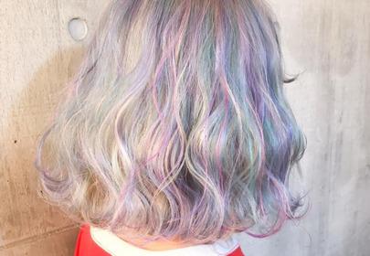 botaniczne włosy koloryzacja dried flower hair
