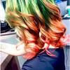 Arbuzowa koloryzacja włosów