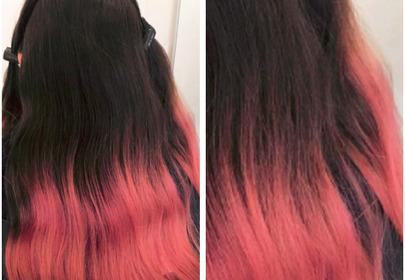 nieudane farbowanie włosów