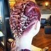 Gorset we włosach