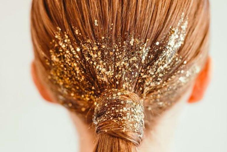 Fryzura Na Sylwestra Brokatowe Włosy Wizazpl