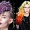 Kolorowe włosy, Fendi, Miller
