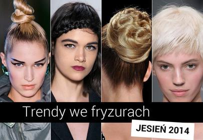 Trendy we fryzurach na jesień-zimę 2014/2015
