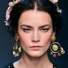 Wianek z kwiatów na wakacje 2014, Dolce&Gabbana