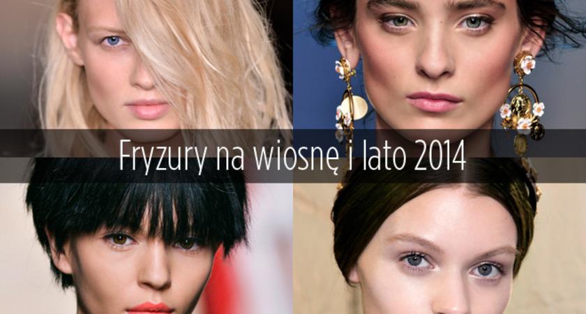 Trendy we fryzurach na wiosnę-lato 2014