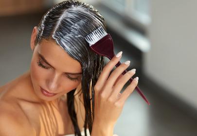 Farbowanie włosów w domu