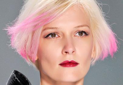Kolorowe włosy - jesień 2013
