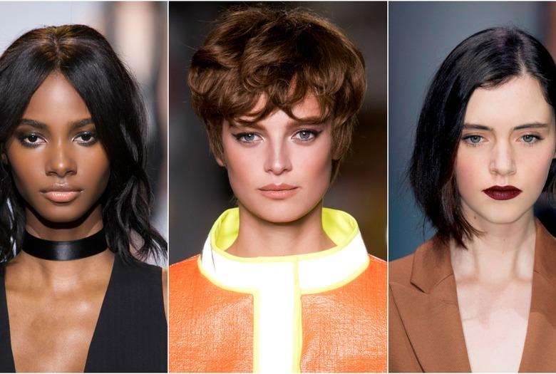 Krótkie fryzury - trendy na wiosnę 2016