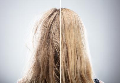 Maska z TikToka na zniszczone włosy. Jej główny składnik to majonez