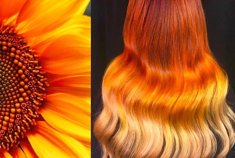 koloryzacja blond Ursula Goff