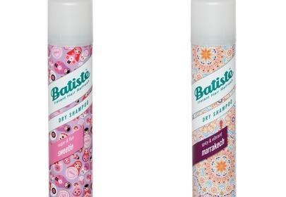 Nowe zapachy suchych szamponów Batiste