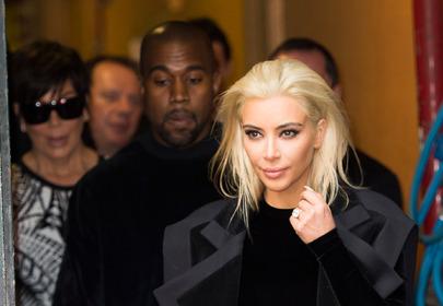 Olaplex - metamorfoza włosów Kim Kardashian