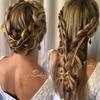 Ślubne upięcia długich włosów- hity z Instagrama