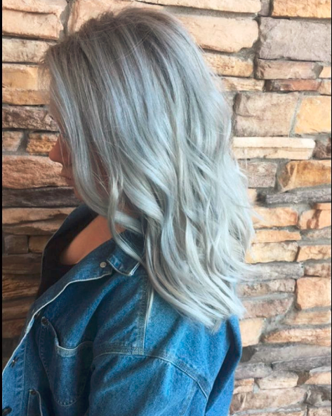 Trendy Zima 2017 Srebrno Niebieskie Włosy Wizazpl
