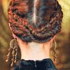 Siriano, fryzura z kilku warkoczy, jesień 2013