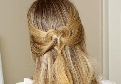Włosy Ułożone W Kształt Serca Wizazpl