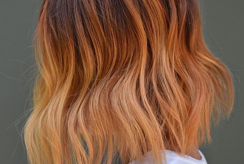 Ginger peach - takie włosy będziemy nosić jesienią 2019!