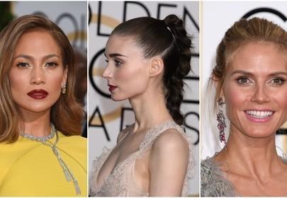 Złote Globy 2016 – makijaże i fryzury gwiazd