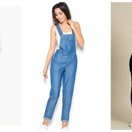 0767820e23cd4 Ogrodniczki znowu modne – nie tylko jeansowe. Wybrałyśmy... INSPIRACJE  ZAKUPOWE