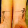 Tatuaż dla przyjaciółek