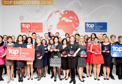 nagrody Top Employer Europe 2016