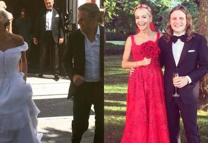 Agnieszka Szulim i Piotr Woźniak-Starak wzięli ślub w Wenecji/fot. Instagram.com/juliastarak