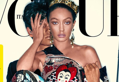 Gigi Hadid na okładce Vogue Italia