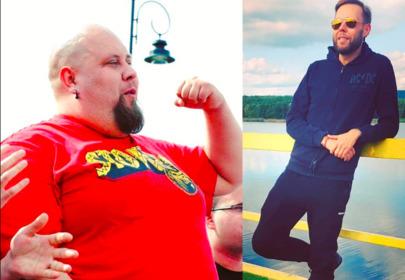 Gogglebox: Big Boy pokazał się bez koszulki po zrzuceniu 160 kilogramów
