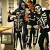 Małgorzata Rozenek-Majdan z rodziną na Halloween