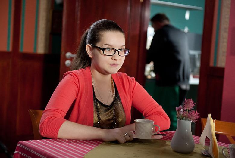 Julia Chatys jako Kasia Berg w serialu